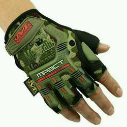 Găng tay Mechanix Impact cụt ngón