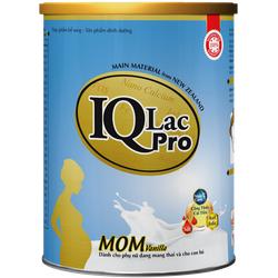 Sữa bầu  dành riêng cho mẹ nghén IQ LACPRO MOM Vanilla -400g