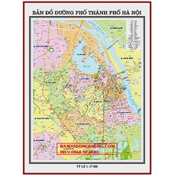 bản đồ đường phố hà nội