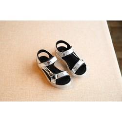 Sandal bạc siêu nhẹ phong cách size nhỏ và lớn