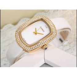 đồng hồ thời trang dây da cao cấp 782