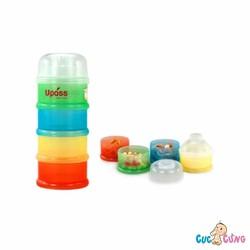 HỘP ĐỰNG SỮA BỘT 4 NGĂN UPASS KHÔNG BPA - UP8003C