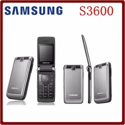 ĐIỆN THOẠI NẮP BẬT SAMSUNG  S3600 CHÍNH HÃNG