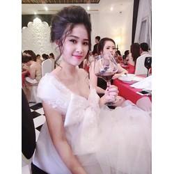 Đầm voan lưới công chúa