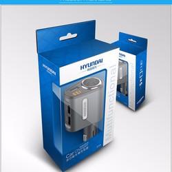 Sạc xe hơi Hyundai 3 cổng USB