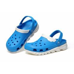 Dép sục Crocs duet max clog màu xanh dương