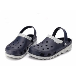 Dép sục Crocs duet max clog màu xanh navy