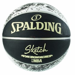 Bóng rổ Spalding Sketch Series Outdoor số 7 - MS: SSSA