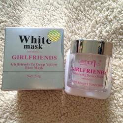 Mặt nạ dưỡng trắng da White Mask GirlFriends