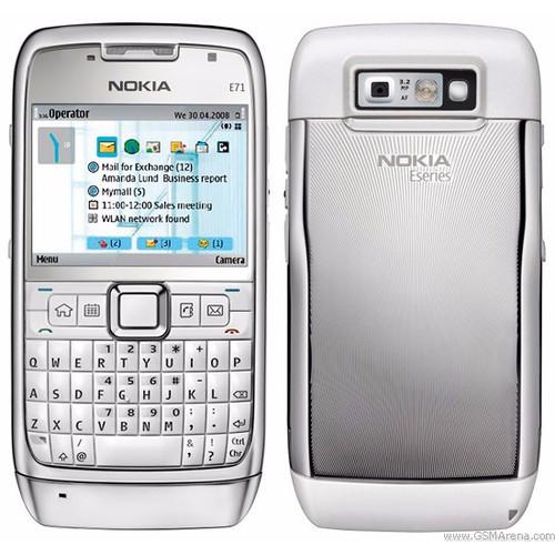 Điện thoại Nokia E71 BH 12 THÁNG