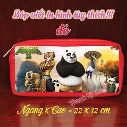 Bóp Viết In Hình Gấu Trúc Panda