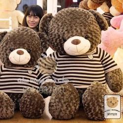 Gấu bông Teddy áo len Choco 1m8