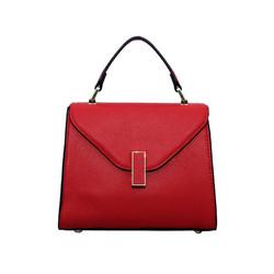 Túi xách nữ da bò thật cao cấp ELMI màu đỏ ETM722