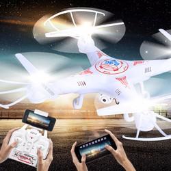 Máy bay điều khiển camera wifi 4 cánh UFO