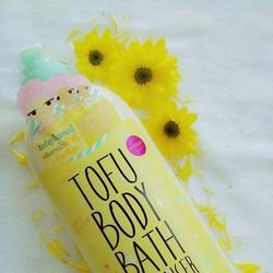 Sữa tắm Cathy Doll White Tofu Body Bath Cleanser 750ml