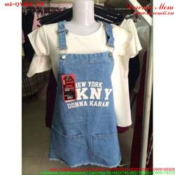Váy yếm jean nữ NewYork xinh xắn đáng iu xmQYB68 View