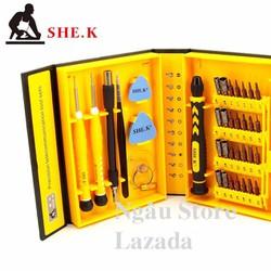 Bộ dụng cụ đồ nghề sửa chữa tháo lắp điện thoại laptop SHE.K - Thép 2