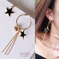 Bông tai ngôi sao sole thời trang hàn quốc xinh xắn HKE-1605252