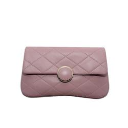 Túi đeo chéo nữ da dê thật cao cấp ELMI màu hồng ETM707
