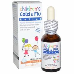 Siro Cảm Cúm Children's Cold  Flu của Mỹ 30 ml