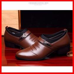 Giày Nam Công Sở Da Thật - Sang trọng, Tinh tế