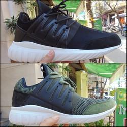 Giày thể thao nam TubularRadial đẹp, có màu đen và xanh rêu