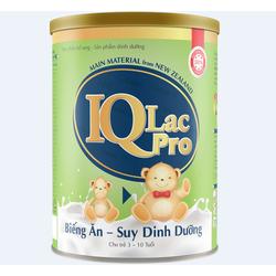 Sữa cho bé Biếng Ăn- Suy Dinh Dưỡng IQ LAC PRO- 400g