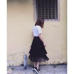 Đầm Xếp Tầng Xinh Quá Xinh