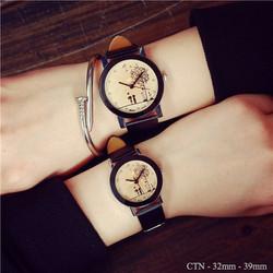 Đồng hồ mặt tình nhân