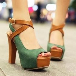 Giày cao gót thời trang quai đan Hàng đẹp