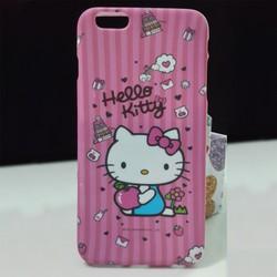 Ốp lưng Pink Hello Kitty silicon dành cho iPhone 6 Plus và 6S Plus