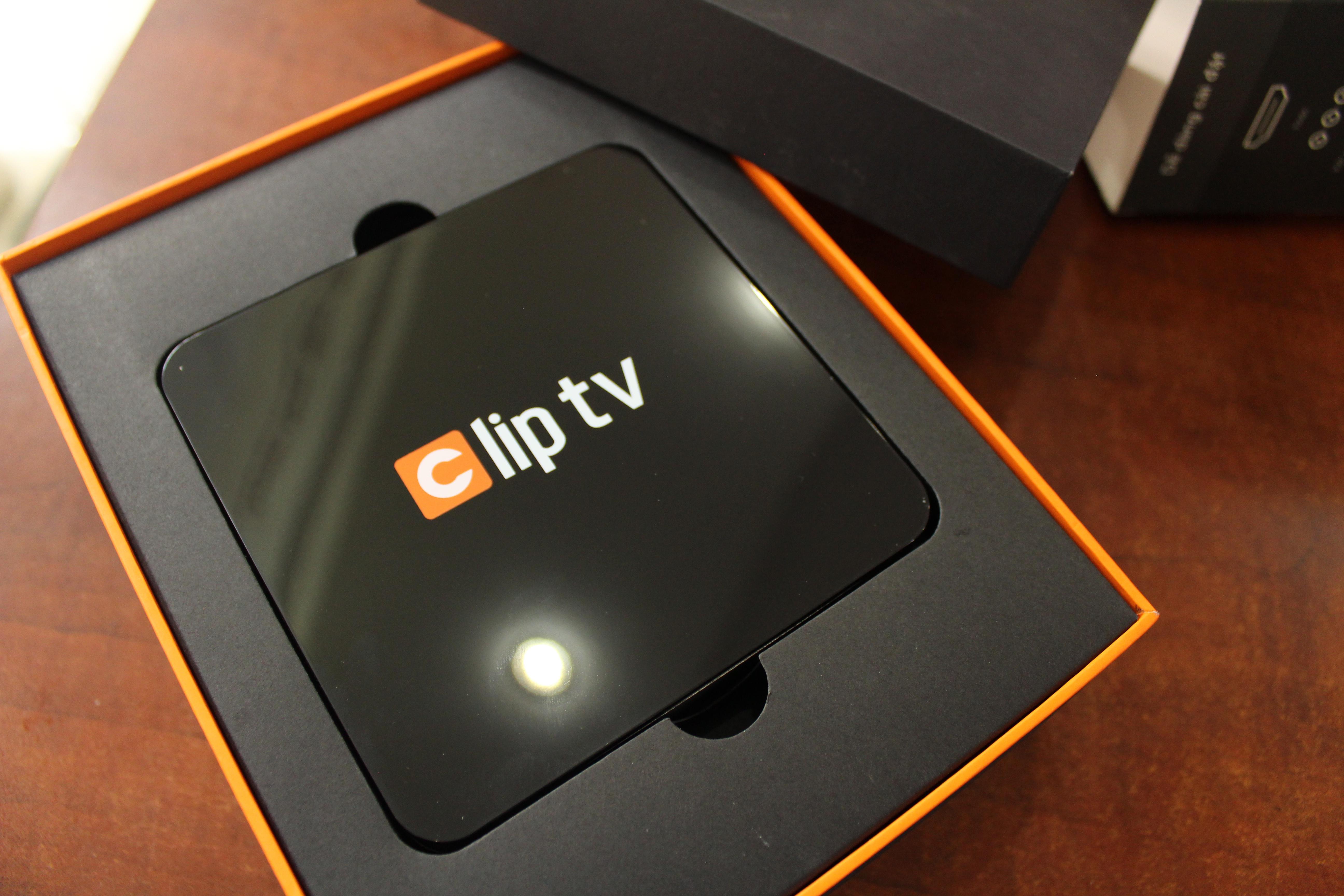 Hộp truyền hình internet Clip TV Box+ Tặng chuột bay KM800 3