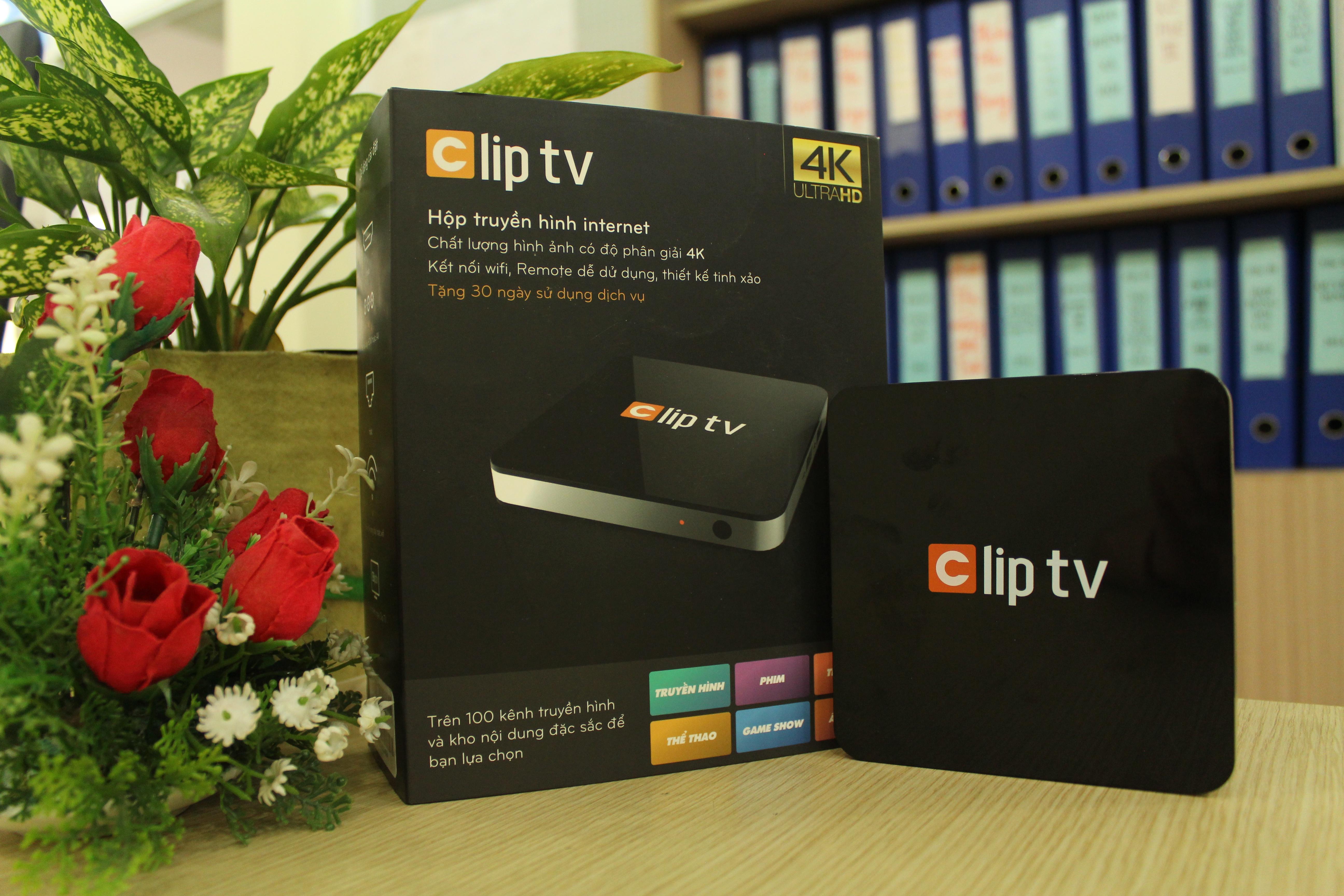 Hộp truyền hình internet Clip TV Box+ Tặng chuột bay KM800 1