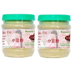 Combo 2 hộp bột đậu đỏ handmade Phú Đạt