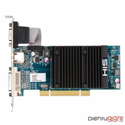 Card màn hình HIS HD 5450 PCI 2.1 512MB HDDR3 1080 HDMI