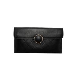 Túi đeo chéo nữ da dê thật cao cấp ELMI màu đen ETM709