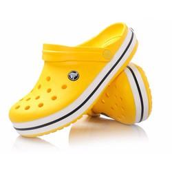 Dép sục crocs band II.5 màu vàng