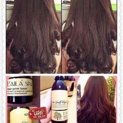 Dầu gội và dầu xã Laila Spa Thái Lan kích thích mọc tóc