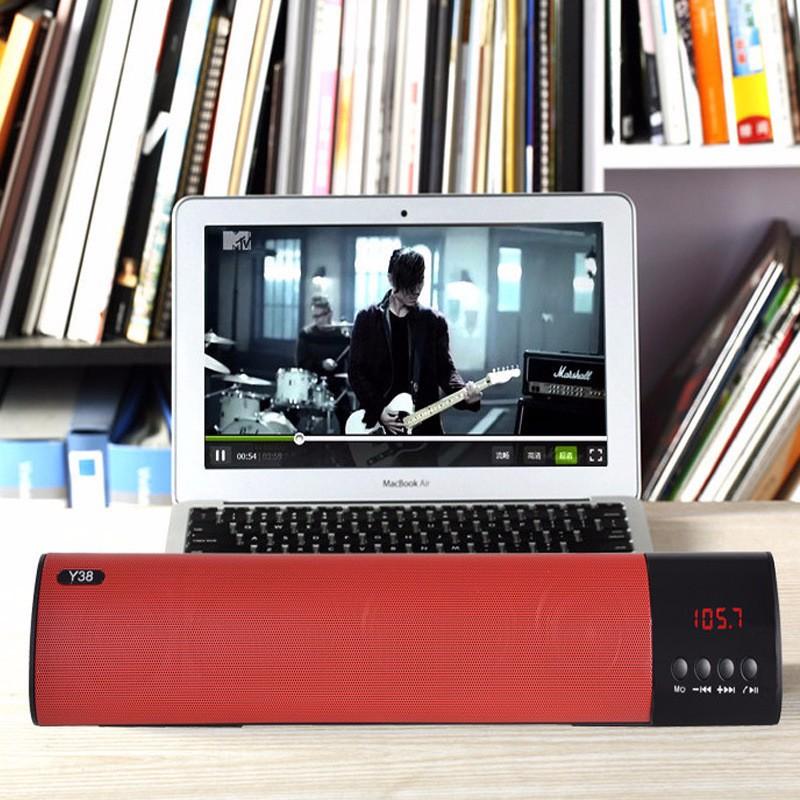 Loa Bluetooth công suất 10w, Stereo 3D Âm Thanh vòm Soundbar 2