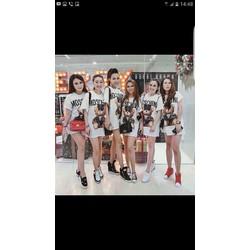 Đầm hot girl M OSCHINO siêu dễ thương