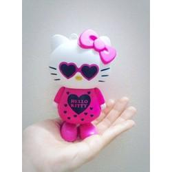Quạt 3 cánh hoạt hình dễ thương Kitty hồng