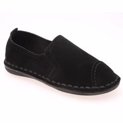 Giày lười nữ đen HNP GN130