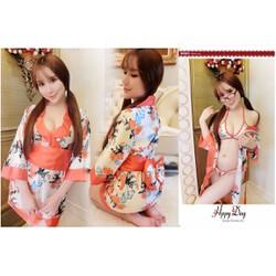 Đầm Ngủ Hoa Mẫu Đơn Nhật Bản