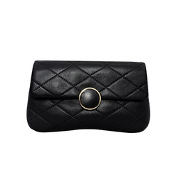 Túi đeo chéo nữ da dê thật cao cấp ELMI màu đen ETM708