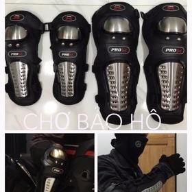 COMBO Giáp Bảo Hộ khuỷu tay , khuỷu chân INOX - GIAP INOX