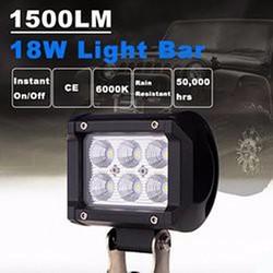Đèn trợ sáng cho xe máy có 6 bóng led