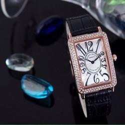 đồng hồ thời trang dây da