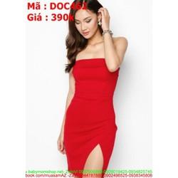 Đầm body dự tiệc cúp ngực sexy và sang trọng DOC462