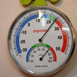 Nhiệt ẩm kế đo nhiệt độ phòng và ngoài trời Kilakichi TH101E