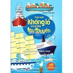 Big book - Cuốn sách khổng lồ về các loại tàu thuyền